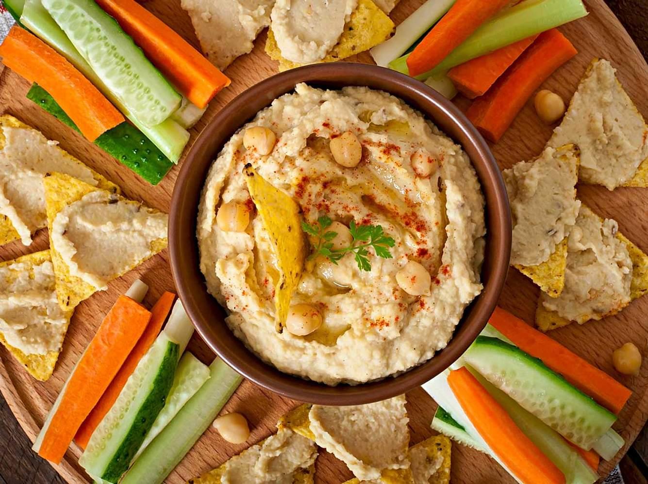 Hummus ist nicht nur lecker, sondern auch gesund!