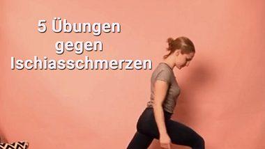 5 Übungen gegen Ischiasschmerzen - Foto: Wunderweib