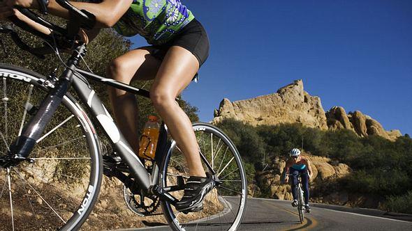 kalorienverbrauch beim fahrradfahren - Foto: Thinkstock