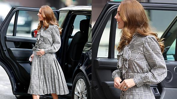 Kate Middleton Kleid für den Herbst - Foto: Getty Images/ Neil Mockford/ Max Mumby/Indigo