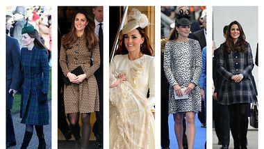 kate middleton liebt das mantel kleid - Foto: Getty Images, Wenn