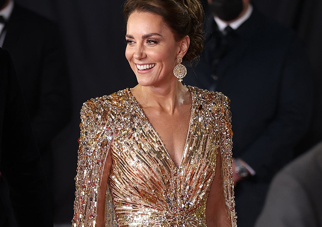 Kate Middleton im Bond Kleid