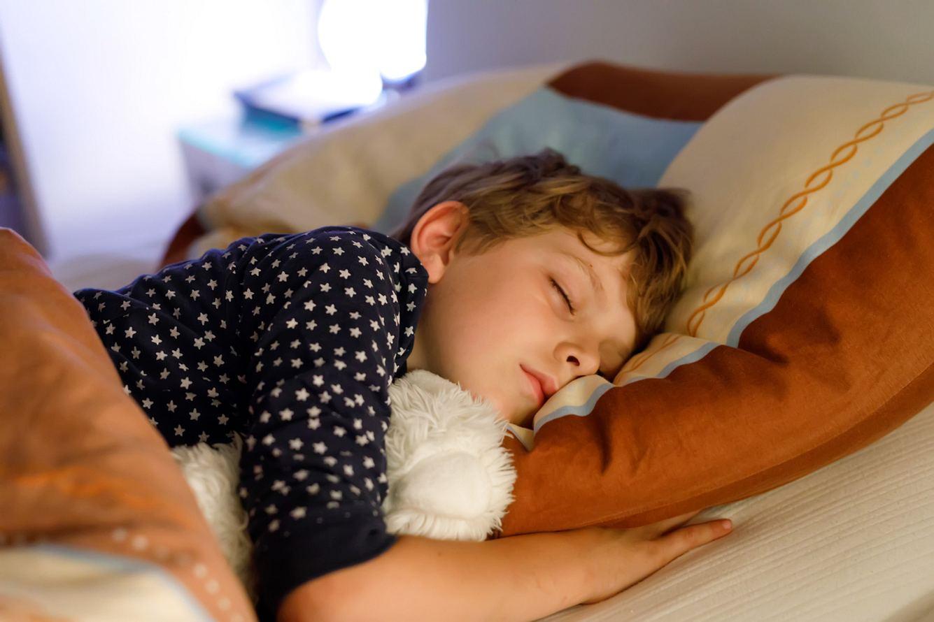 Kind schlafen
