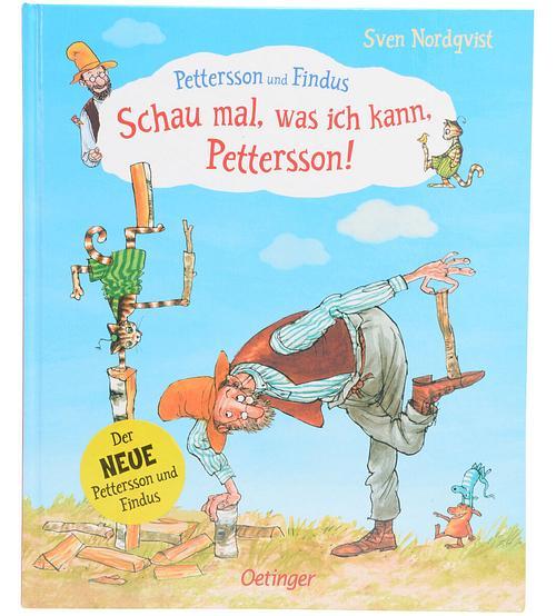 Kinderbuch 'Schau mal, was ich kann, Pettersson' Sven Nordqvist