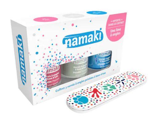 Kindernagellack im Set von Namaki