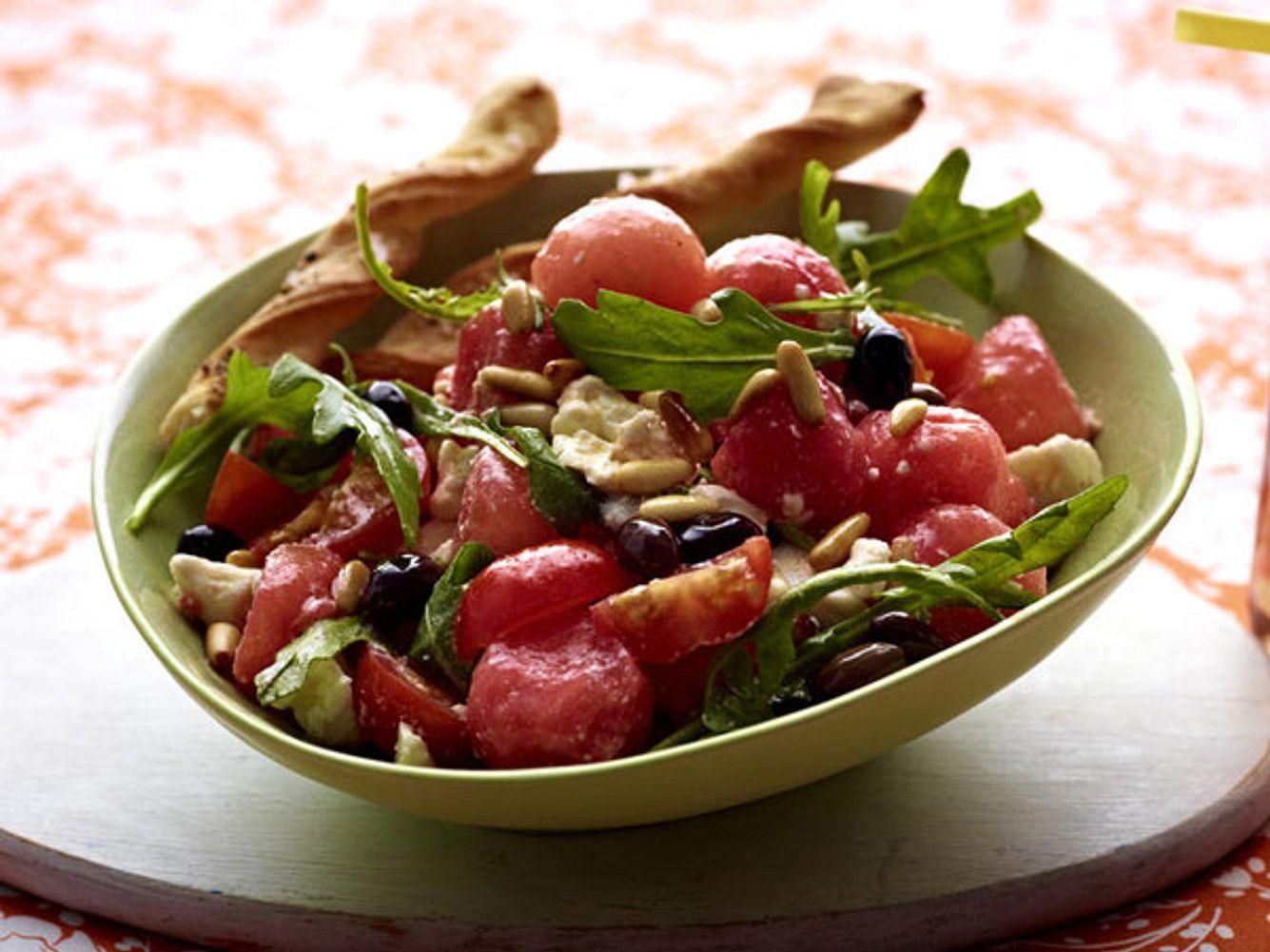kochschule wassermelonen salat b
