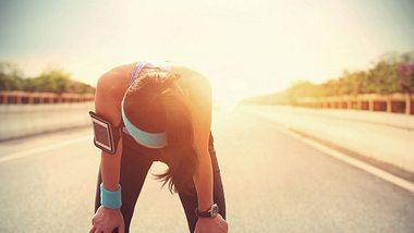 Laufen bei Hitze: Unsere Laufkolumne - Foto: iStock/ lzf