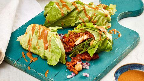 Low Carb Wraps sind lecker und schnell gemacht. - Foto: House of Food / Bauer Food Experts KG