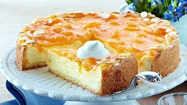 Wir haben das Originalrezept für einen einfachen Mandarinen-Schmand-Kuchen. - Foto: House of Food / Bauer Food Experts KG