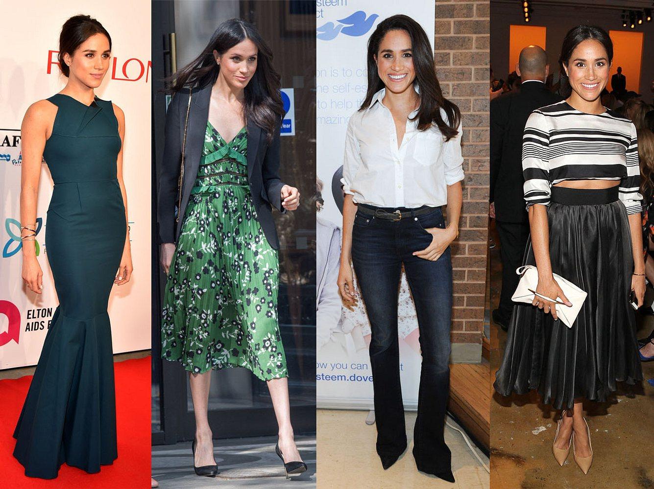 Meghan Markles Outfits beweisen Stil: Feminin oder lässig-elegant - Meghans Style beeindruckt.