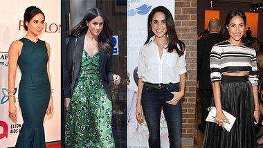Meghan Markles Outfits beweisen Stil: Feminin oder lässig-elegant - Meghans Style beeindruckt. - Foto: Getty Images