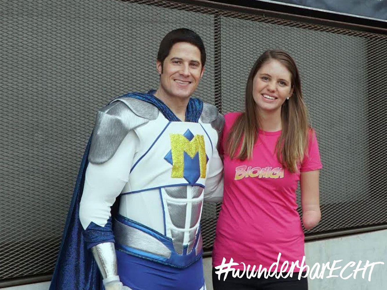 Michel Fornasier und Ramona Manser sind Bionicman und Bionica.