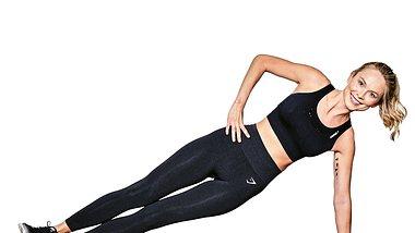 Hot Body Workout in 7 Minuten mit Miss Germany Nadine Berneis - Foto: Tobias Dick