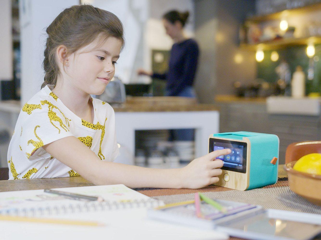 Musikbox für Kinder: Tigerbox