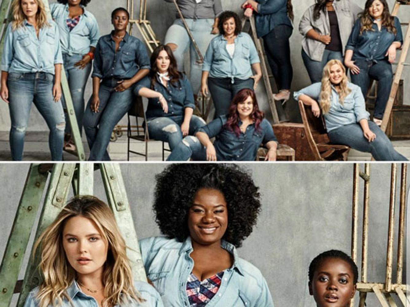 Neue Plus Size Jeans Kampagne von Torrid