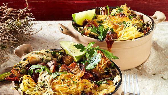 Unser Nudelgratin ist eine Geschmacksexplosion. - Foto: House of Foods