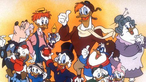 Oma Ducks Apfelkuchen begeistert alle Bewohner von Entenhausen. - Foto: imago images / United Archives  Ducktales - Geschichten aus Entenhausen / Disney s DuckTales, Copyright: TBM