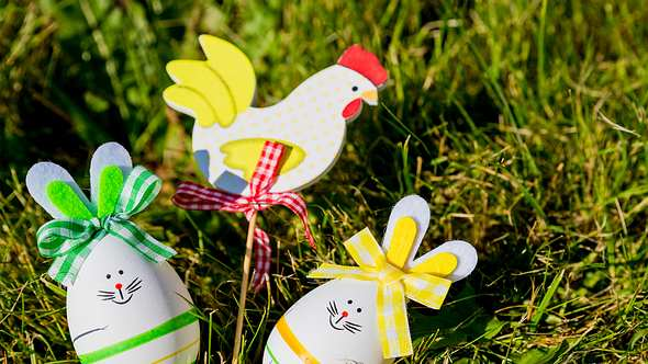 Osterhasen basteln leicht gemacht: Wir verraten wie es geht! - Foto: iStock