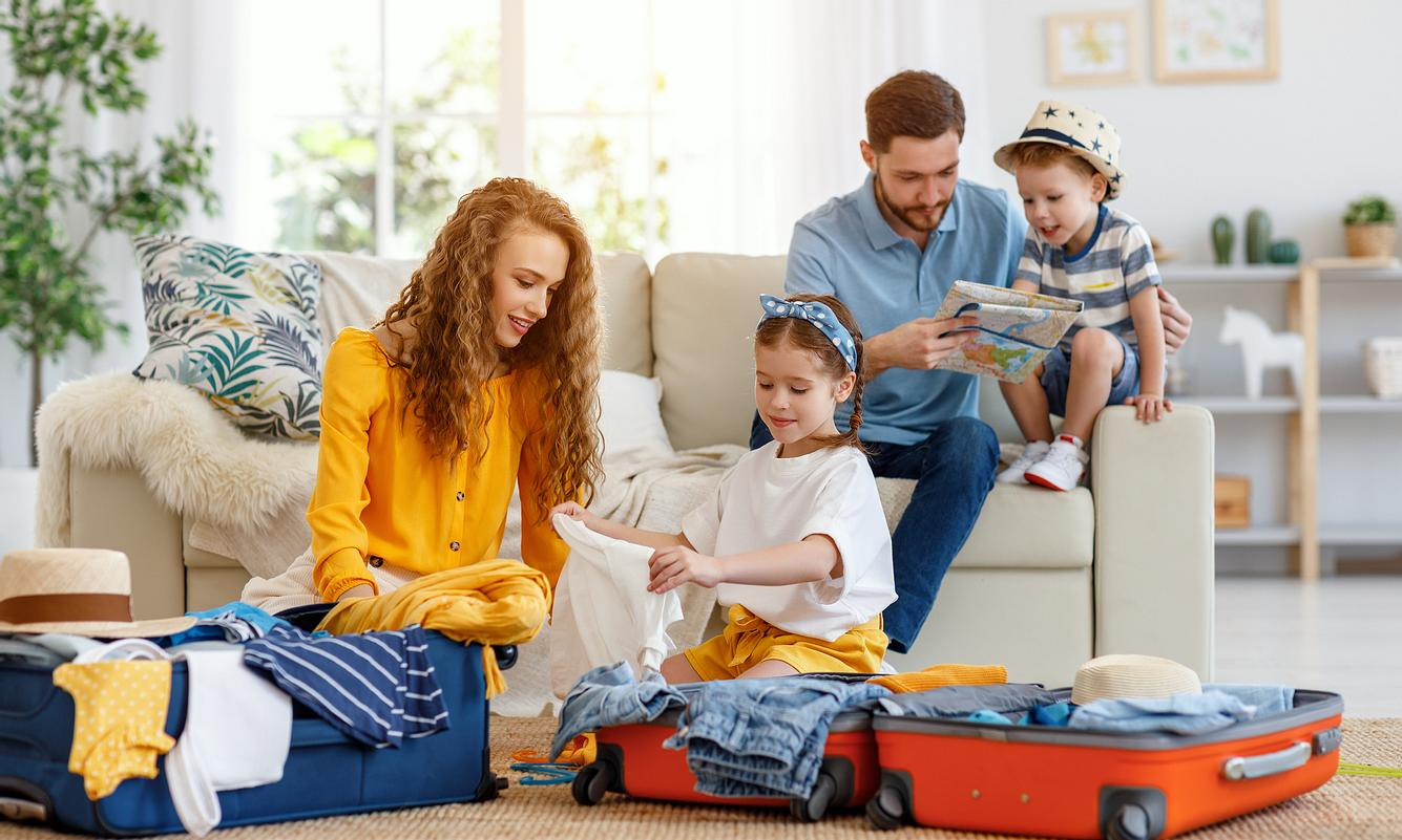 Tschüss, Tetris! Mit Packing Cubes wird das Packen für den Urlaub gleich viel entspannter.
