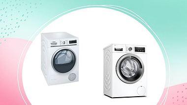 Prime Day 2021 Deals: Bosch Waschmaschine und Siemens Trockner - Foto: PR/ Amazon