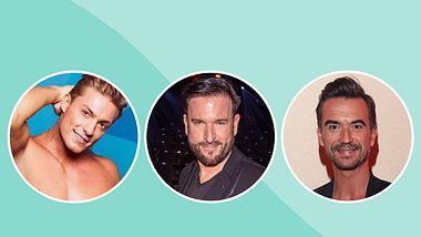 Auf welchen Männertyp stehst du? - Foto: RTL II (links) / Getty Images (mittig und rechts)