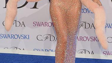 rihanna im nacktkleid bei den cfda fashion awards 2014 - Foto: Getty Images