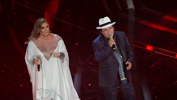 Italy:Albano and Romina guests at Sanremo Festival Albano and Romina guests at the first evening of the Sanremo Festival - Foto: IMAGO / Pacific Press Agency