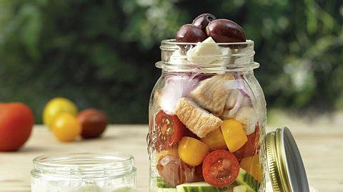 Salat im Glas: Rezept für Best of Greece - Foto: © Eisenhut & Mayer/Brandstätter Verlag