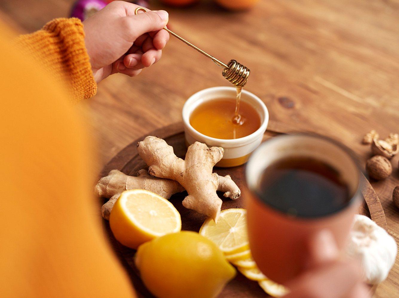 Natürliche Helfer gegen Erkältungssymptome
