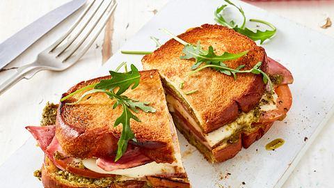 Unsere Sandwich-Toast-Rezepte lassen keine Wünsche offen. - Foto: House of Food / Bauer Food Experts KG