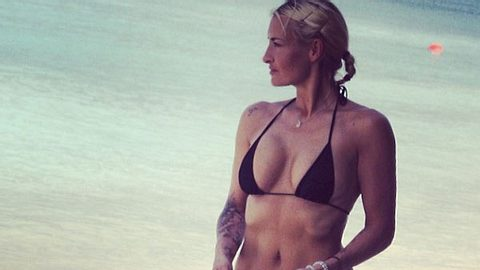 sarah connor im bikini - Foto: misscee888/Instagram