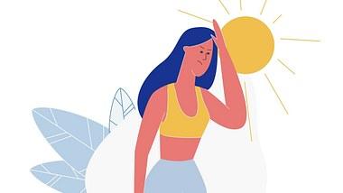 Schwitzen am Kopf: Was kannst du dagegen tun? - Foto: UnitoneVector/iStock