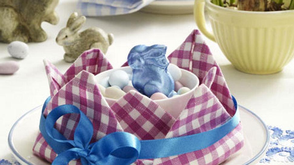 servietten falten ostern - Foto: deco&style