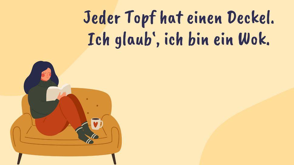 Die lustigsten Single-Sprüche für Singles mit Humor - Foto: iStock/Ponomariova_Maria/Redaktion Wunderweib