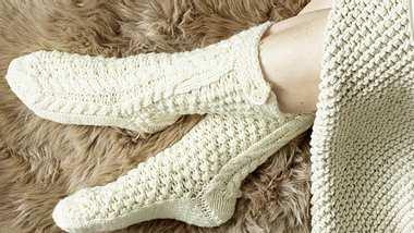 Socken Anleitung - Foto: Deco & Style