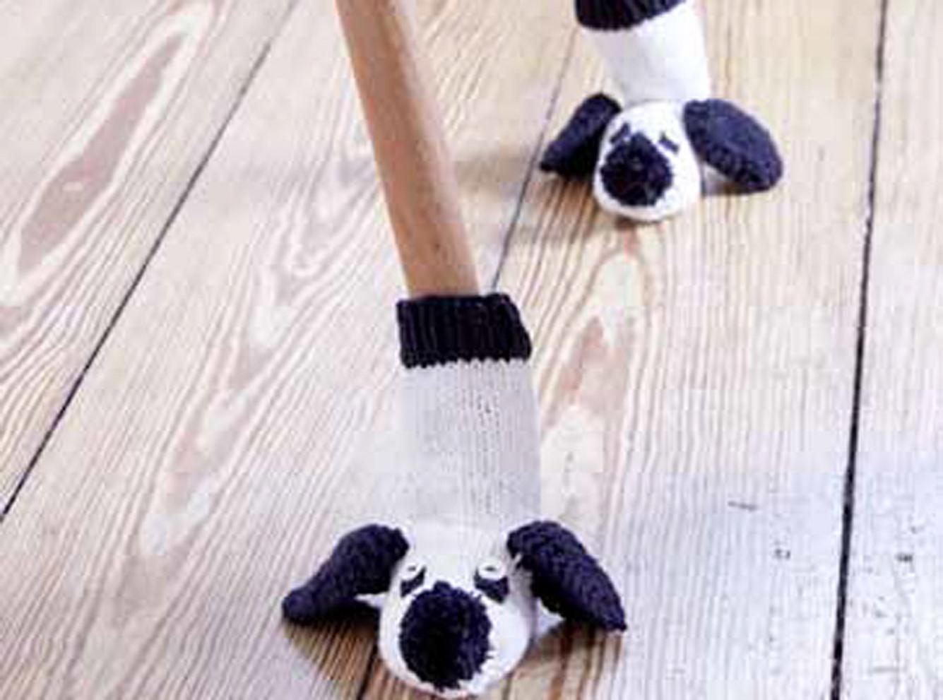 Anleitung: Babysocken - Hund