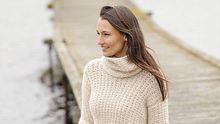 strickanleitung pullover mit kragen - Foto: Drops Design