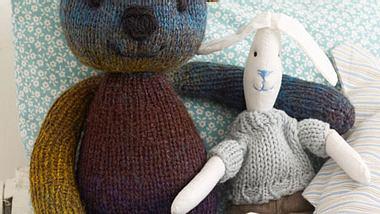 strickanleitung teddy - Foto: Foto: Steffi Hochfellner