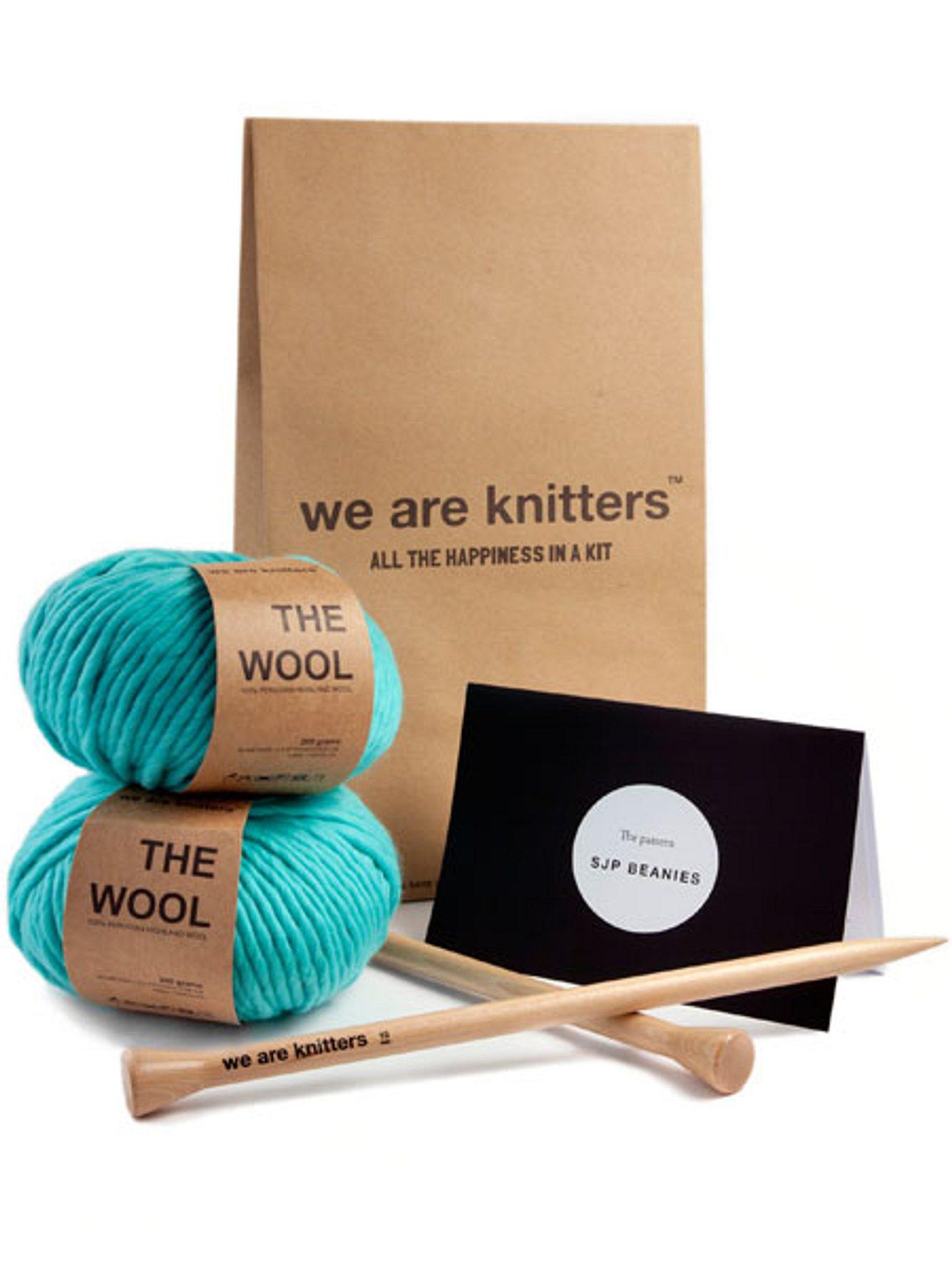 stricken lernen we are knitters