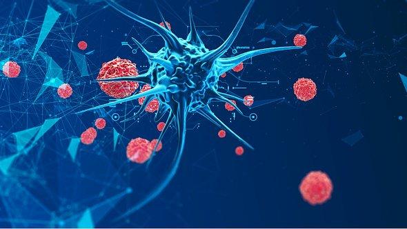 Eine Superinfektion ist ein Doppelangriff von Bakterien und Viren. - Foto: Antiv3D/iStock