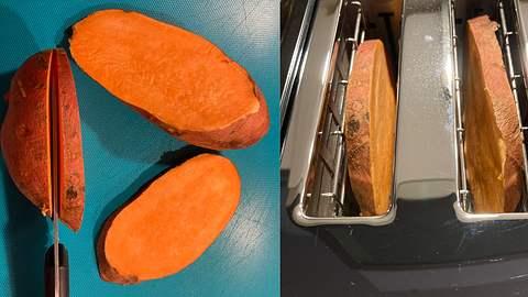 Süßkartoffel-Toast zubereiten: Mit unserem Rezept ganz einfach - Foto: Jan Wälder / Wunderweib.de