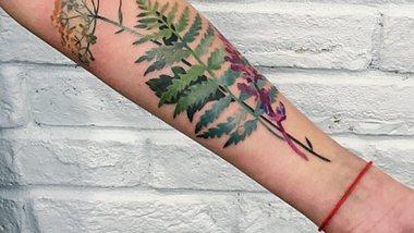 tattoo pflanzen - Foto: rit.kit / instagram