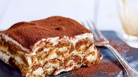 Dieses italienische Dessert kommt ganze ohne Ei aus. - Foto: House of Foods