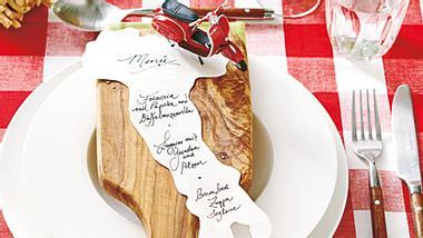 tischdeko italienisch - Foto: deco&style