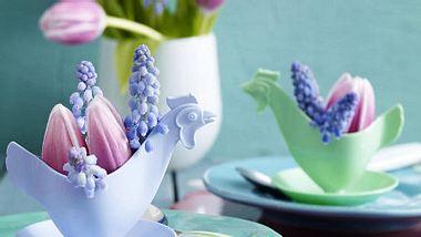 tischdeko zu ostern - Foto: deco&style