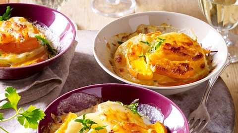 trennkost mit wochenplan kartoffelgratin - Foto: RFF