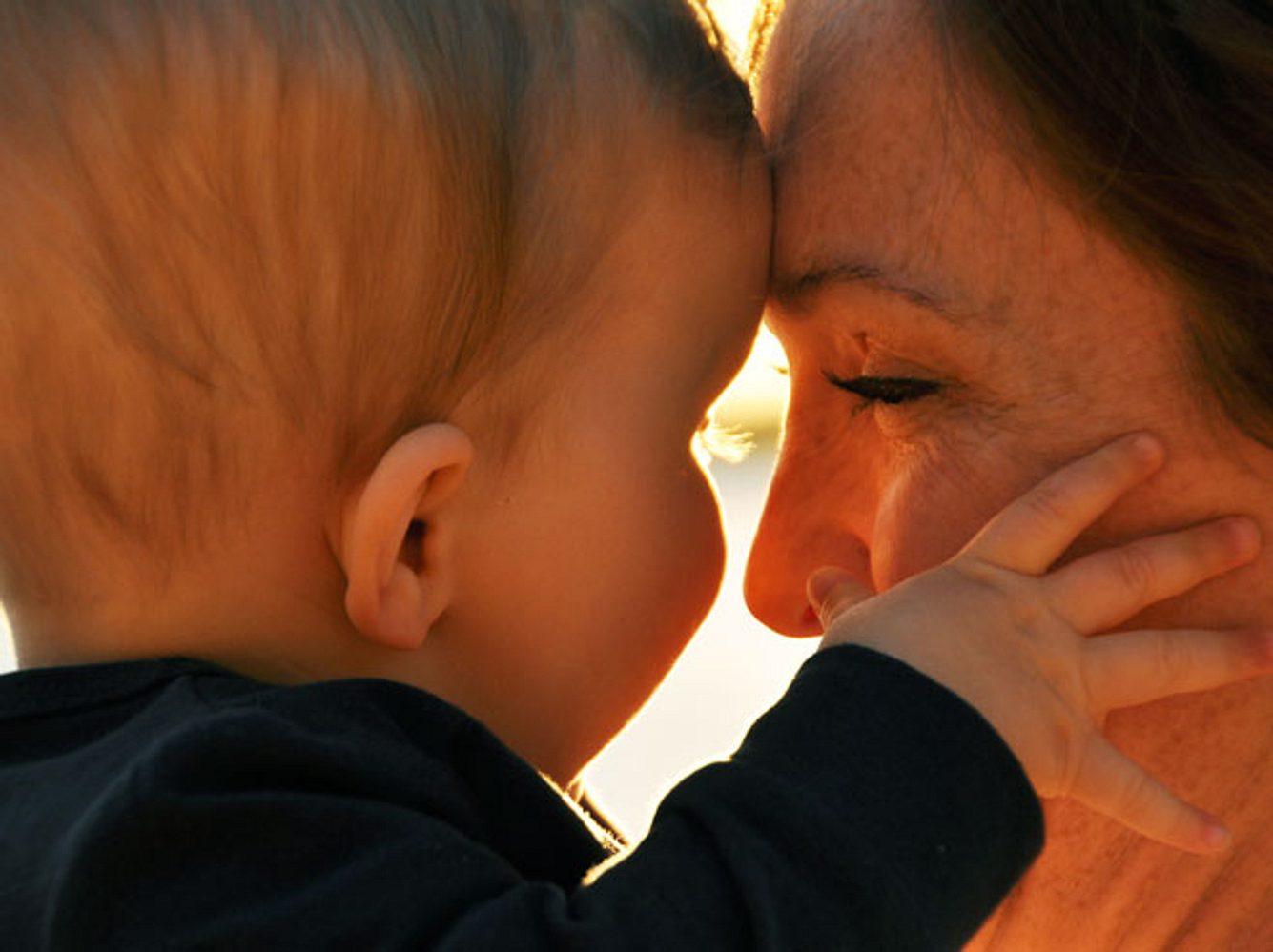 Die Liebe zwischen Mutter und Kind ist unvergleich.
