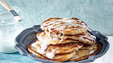 Vegane Pancakes sind fluffig, süß und genauso lecker wie das Original. - Foto: House of Food / Bauer Food Experts KG