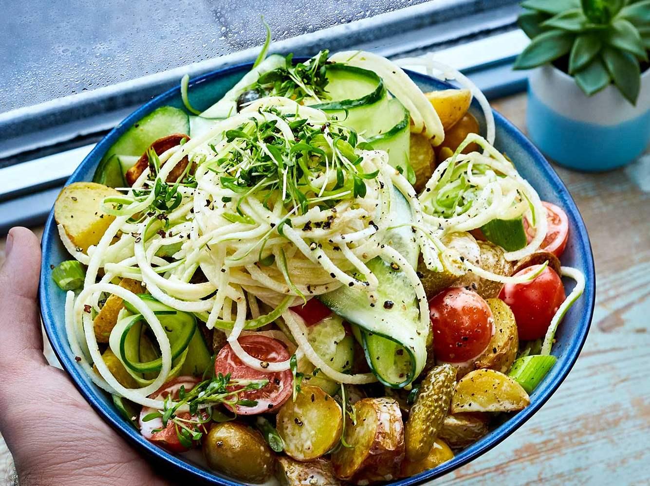 Vegane Salate: 7 Rezepte für frischen Genuss