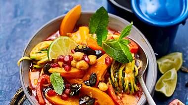 Dieses vegane Curry ist perfekt für den Herbst. - Foto: House of Foods